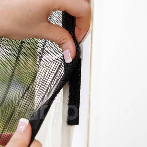 Магнитная сетка от комаров на дверь своими руками