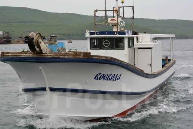 японский катер для рыбалки