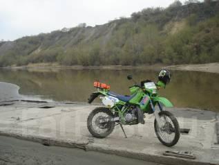 Kawasaki KDX 200. ��������, ���� ���, � ��������
