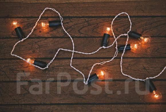 Гирлянды из ламп накаливания