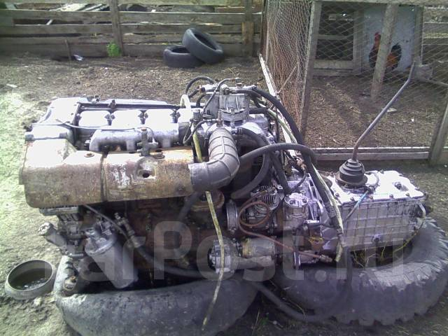 Двигатель на газ дизель