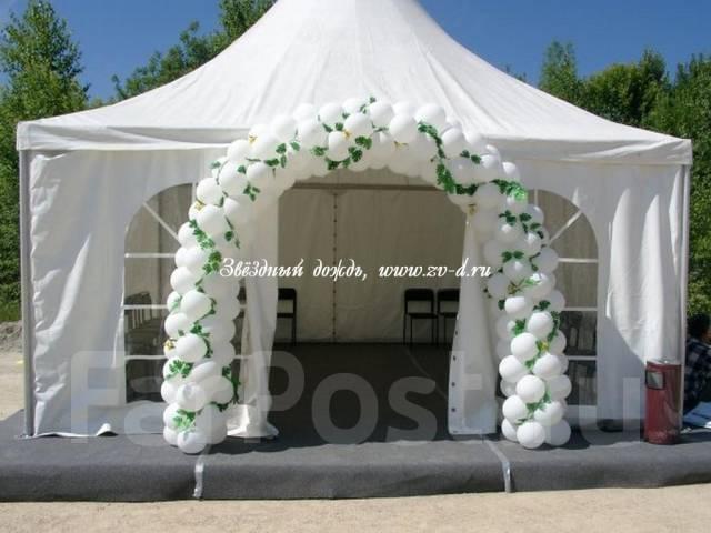 Как украсить шатер на свадьбу своими руками фото