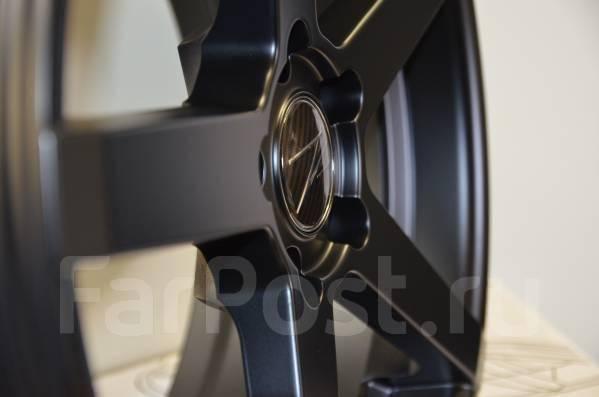 NEW! Диповые ZP6 5x114.3 18x8J Matt Black Оригиналы. 8.0x18, 5x114.30, ET35, ЦО 73,1мм.
