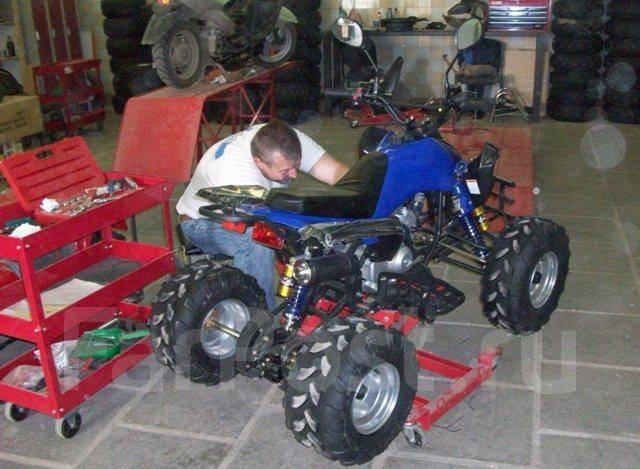Квадроцикл из скутера своими руками фото