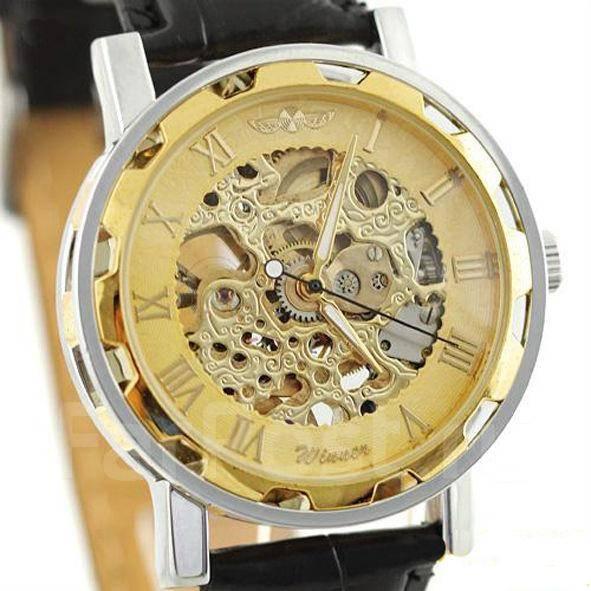 Купить часы скелетоны мужские и женские в интернет магазине - ЧасУС -  Магазин недорогих часов Мужские механические часы скелетон winner skeleton 9b2182adf42