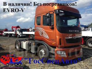 Daewoo Prima Ultra. Седельный тягач  (EVRO - 5) 35 000 кг. 2014год., 10 824 куб. см., 35 000 кг.