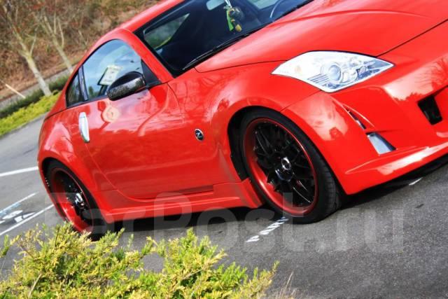 Порог пластиковый. Nissan 350Z