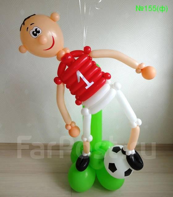 Как сделать мужчину из шаров