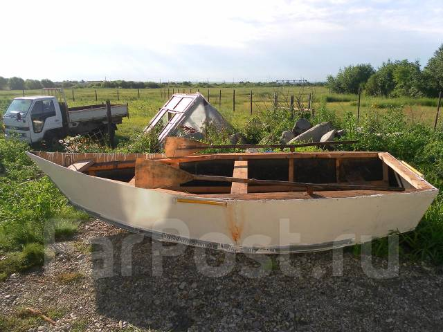 Моторная лодка своими руками из оцинковки 32