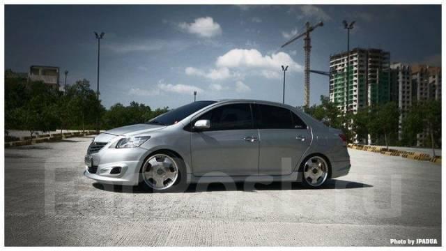Накладка на бампер. Toyota Vios Toyota Belta