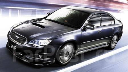 Обвес кузова аэродинамический. Subaru Legacy, BP
