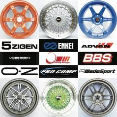 RAYS, BBS, MKW, Vossen, Ultra, DAD, Alpaine Racing, Advan Racing, Work, BMW, AMG