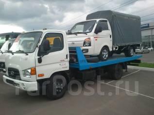 Hyundai HD78. HD78 со сдвижной эвакуаторной платформой, 3 907 куб. см., 3 500 кг.