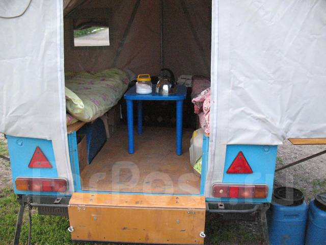 Палатки на прицеп своими руками