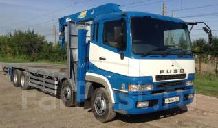 Mitsubishi Fuso Super Great. Эвакуатор MMC FUSO Super Great, 12 023 куб. см., 15 000 кг.