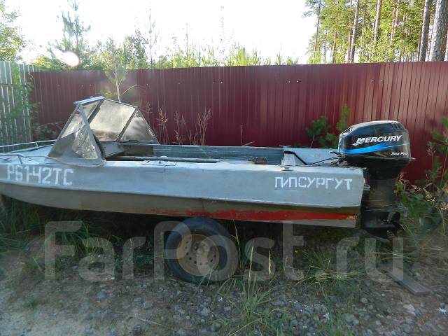 моторная лодка обь 3: