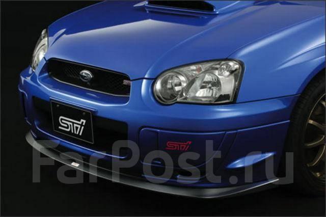 карбоновый STI на Subaru WRX STI 2004(S-Cust