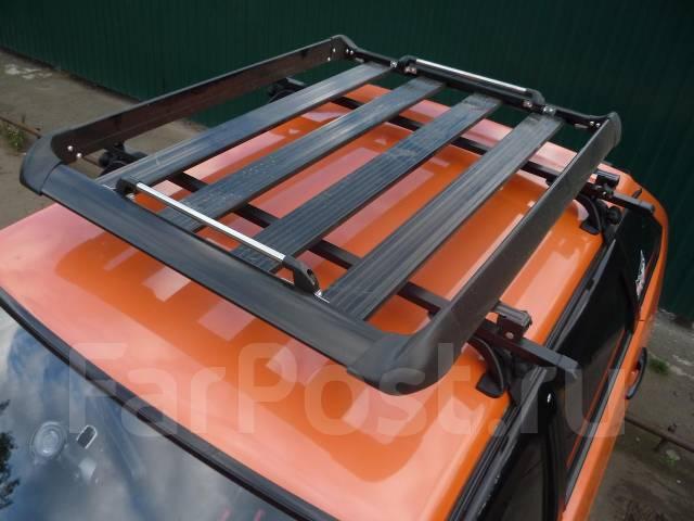 Сделать багажник на крышу на иномарку своими руками 43