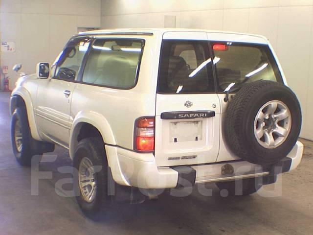 Nissan safari y61 на запчасти