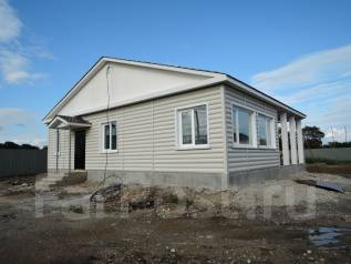 Продам новый теплый дом с террасой  под ключ в 3 км. от центра. Дом снаружи