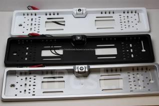 Камера заднего вида с Рамкой под госномер. с подсветкой.
