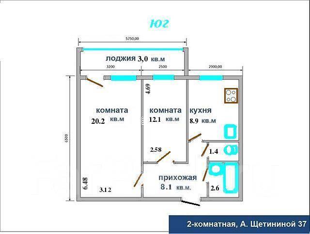 Планировка квартир 2х комнатных квартир удобный поиск картин.