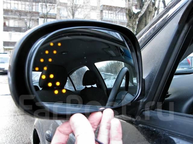 Дополнительные поворотники на зеркала своими руками
