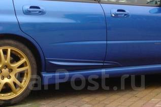 Накладка на дверь. Subaru Impreza WRX, GDB