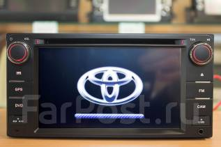 Автомагнитола Toyota с GPS/DVD/USB/Интернет/BT. Гарантия 1год.