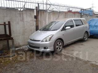 �����������. Toyota Wish, ZNE10 ��������� 1ZZFE