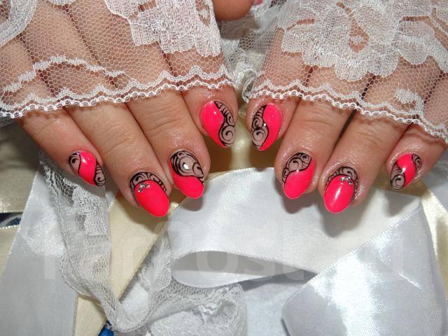 Дизайн ногтей термогелем фото