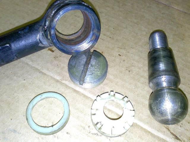 Реставрация шаровых опор рулевых наконечников своими руками