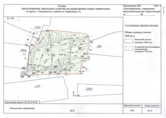 Земельный участок, Карбышева