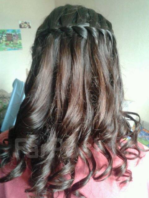 Одноклассники плетение кос