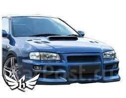Бампер. Subaru Impreza WRX, GC8