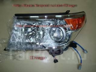 Линза фары. Toyota Land Cruiser