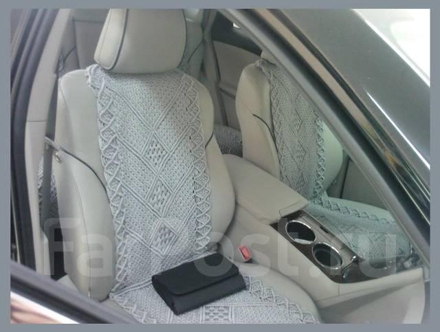 Плетеные чехлы на сиденья автомобиля
