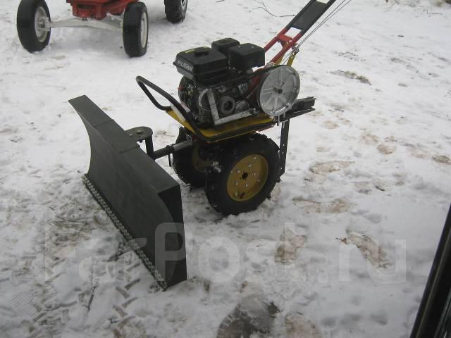 самодельный снегоуборщик к мотоблоку. - YouTube