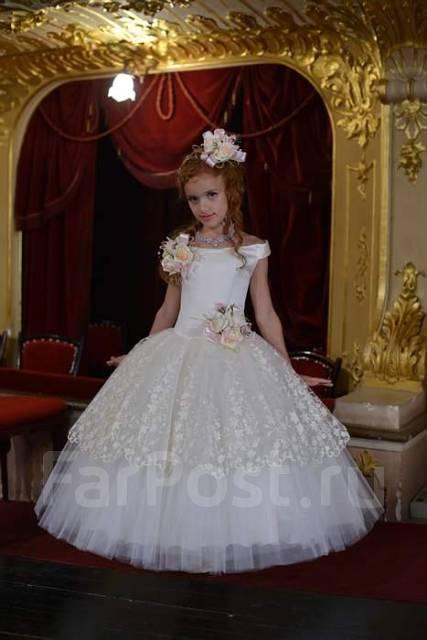 Бальное платье для девочки на выпускной в детском саду