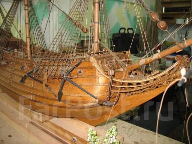 Модели парусных кораблей из дерева своими руками чертежи