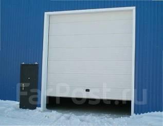 Секционные подъёмные ворота, откатные ворота, панельные заборы