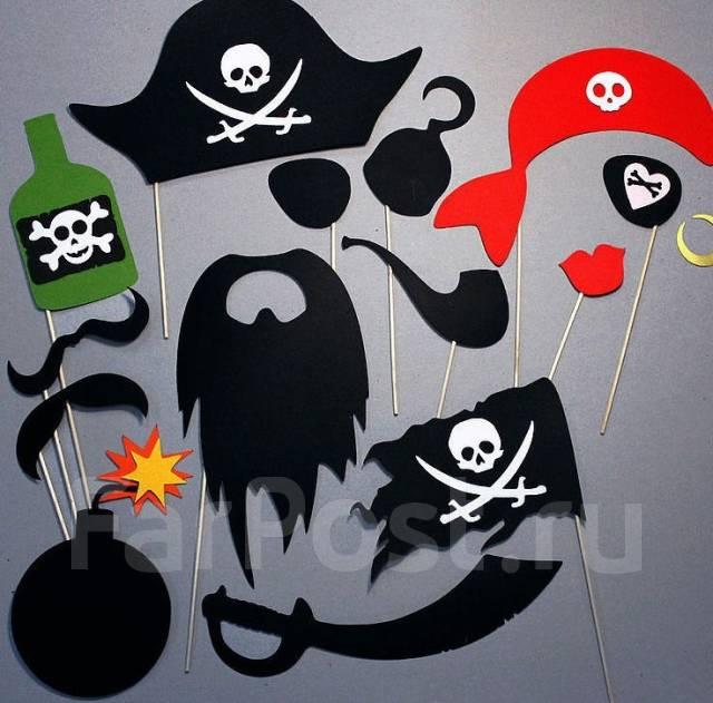 Декорации для пиратской вечеринки своими руками