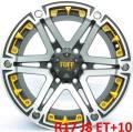 Tuff A.T. T-01. 8.0x17, 6x139.70, ET10, �� 108,0���.