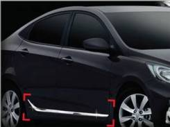 Накладка на дверь. Hyundai Accent Hyundai Solaris