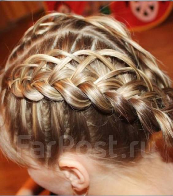 Плетение кос на дому для