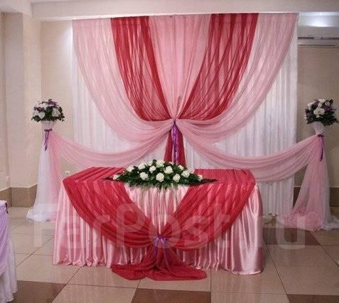 Украшение свадебного зала своими руками мастер класс