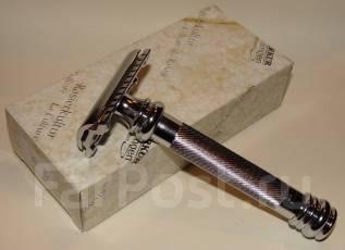 Класическая бритва Merkur grand-long, фрг, хром, рез прямой. Под заказ