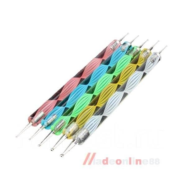 дотс для дизайна ногтей: