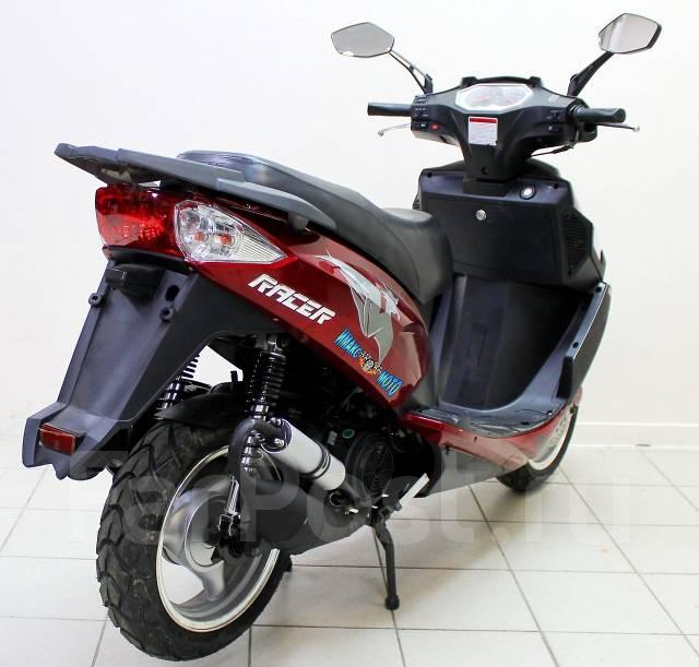 Скутер Racer Stells RC150T-15 красный, 2014 - Продажа мопедов и скутеров в Москве