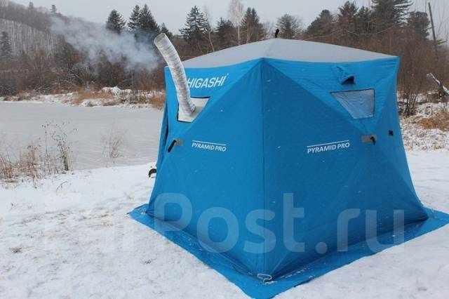 Зимняя палатка для рыбалки своими руками из